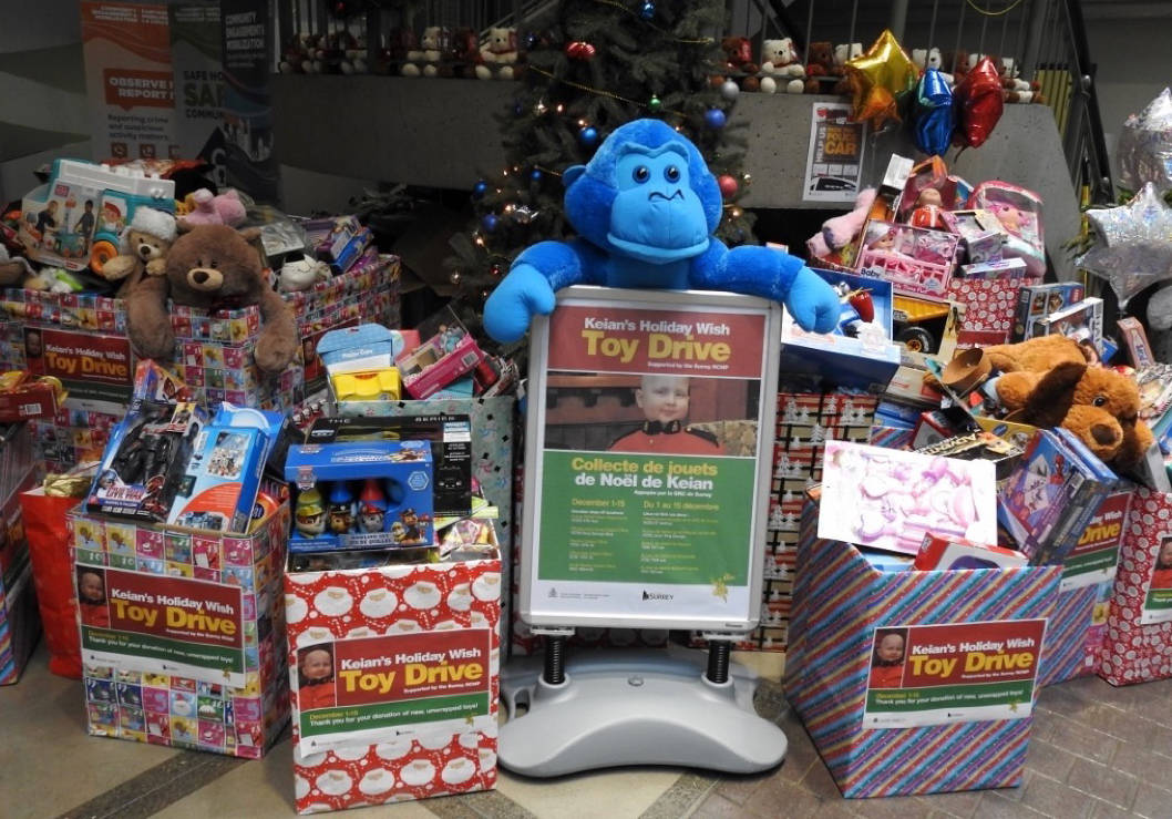 Keian's Toy Drive breaks records with 4,000 toys delivered to sick children