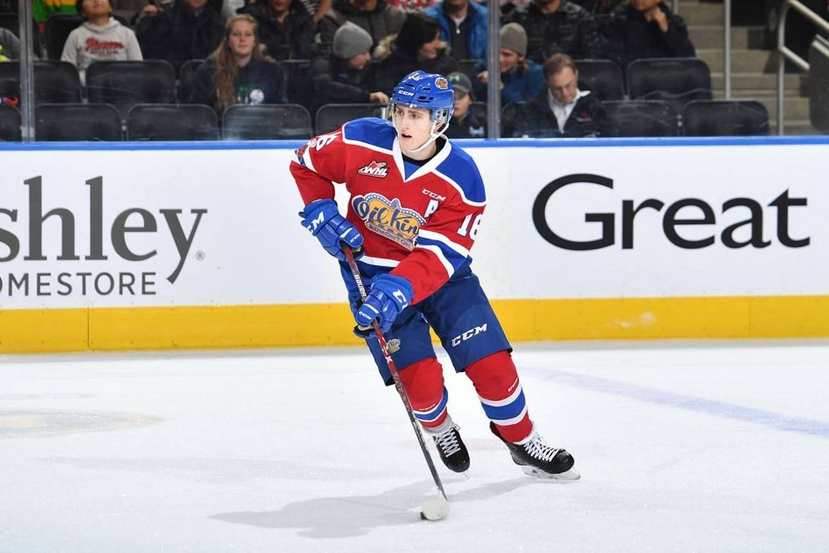 Newly acquired Vancouver Giants forward has tallied 39 points in 40 games with the Edmonton Oil Kings this season. Submitted photo