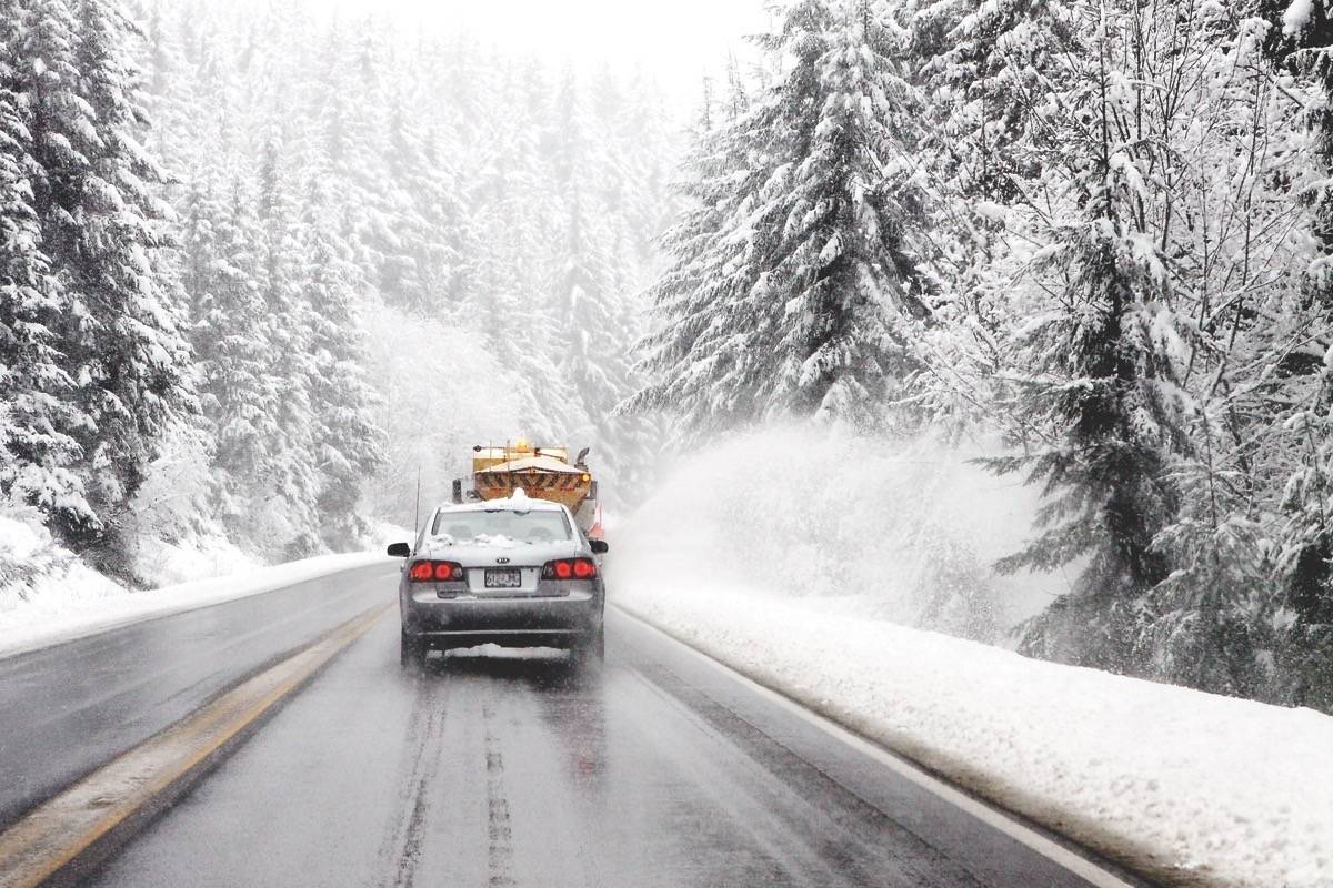 Wintry weather warning for B.C. highways