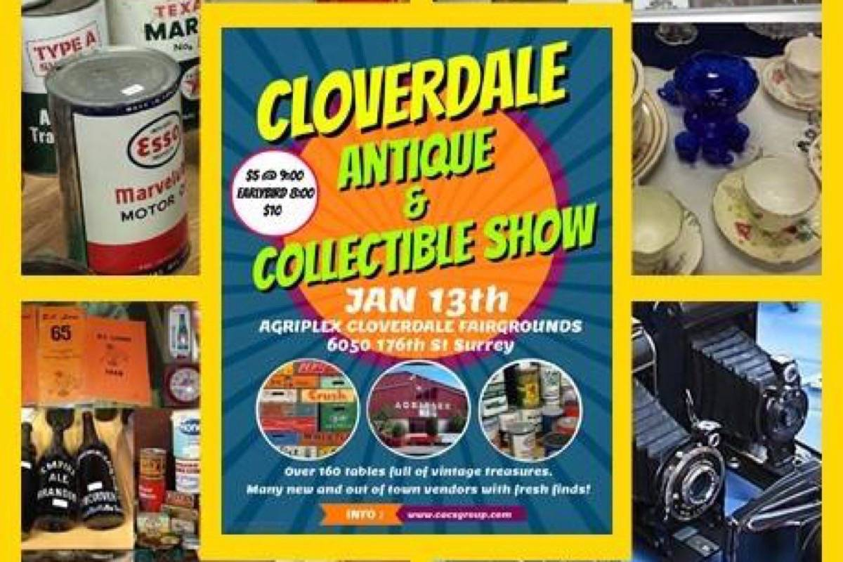 Cloverdale Antique and Collectible Show this Saturday - Langley Times