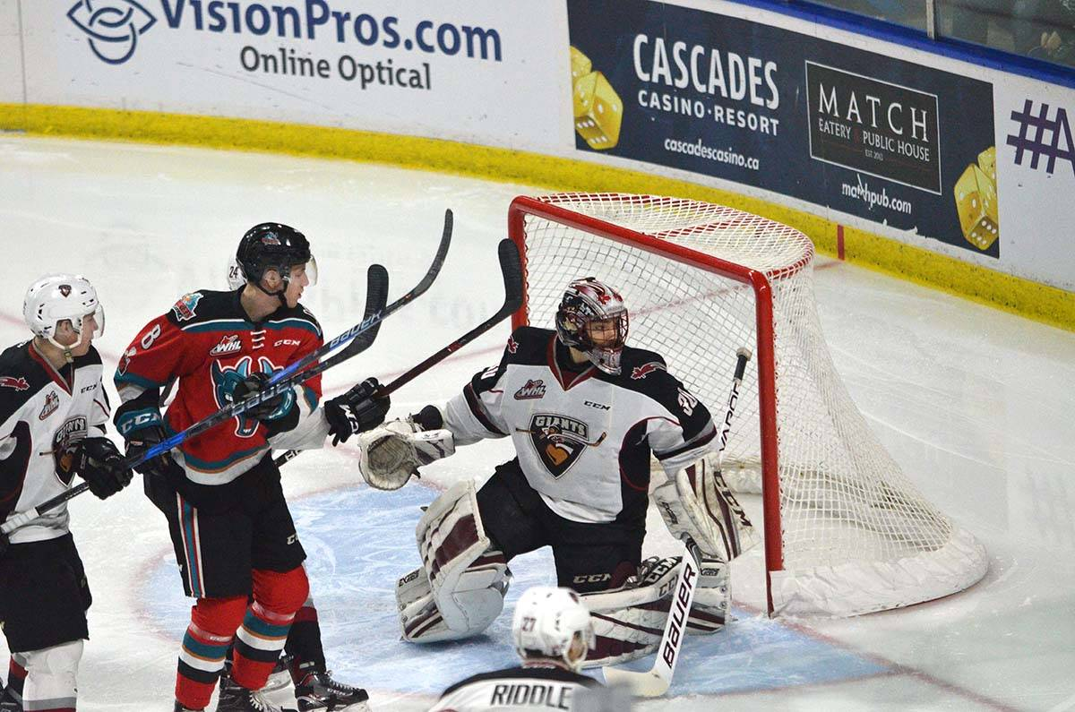 Kelowna Rockets vs Vancouver Giants, WHL at Langley Events Centre, Jan. 13 Gary Ahuja Langley Times