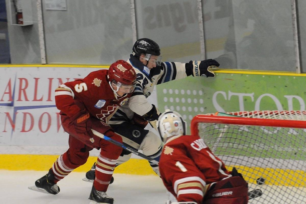 Eagles blank Rivermen