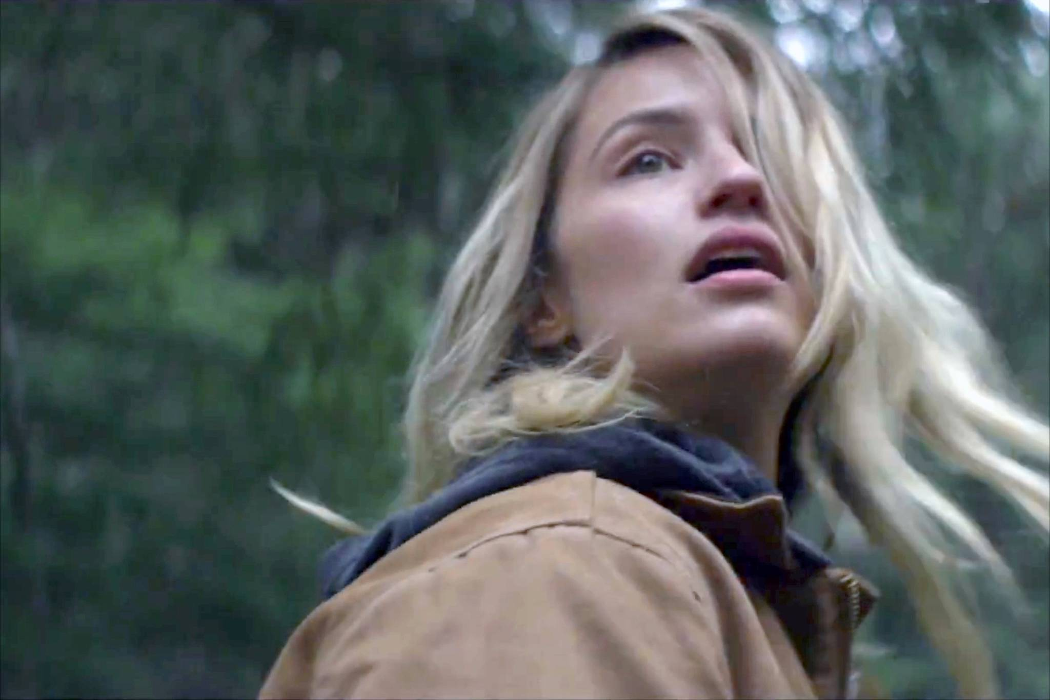 Dianna Agron, who stars in Hollow in the Land, appears in the trailer for the movie.