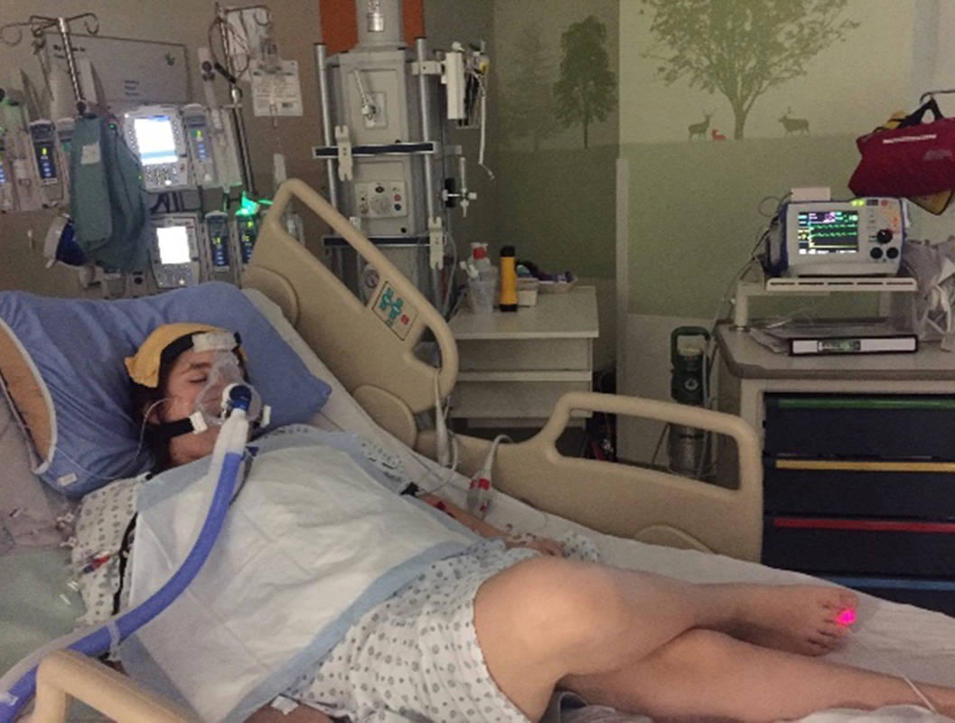Langley teen in fight for her life