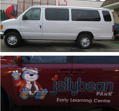 Daycare van stolen over the weekend