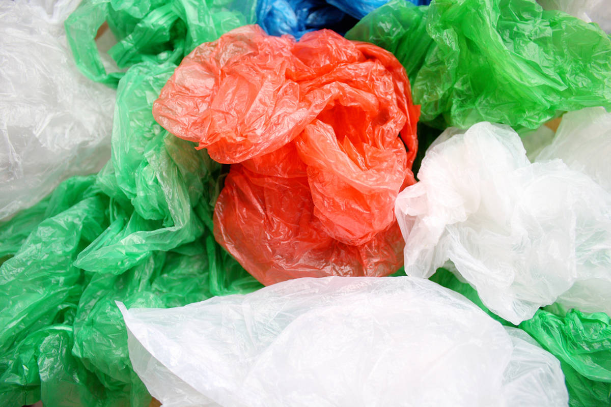A plastics industry lobby group has challenged the City of Victoria in court over its upcoming ban on the provisional of single-use plastic bags by merchants. iStock photo