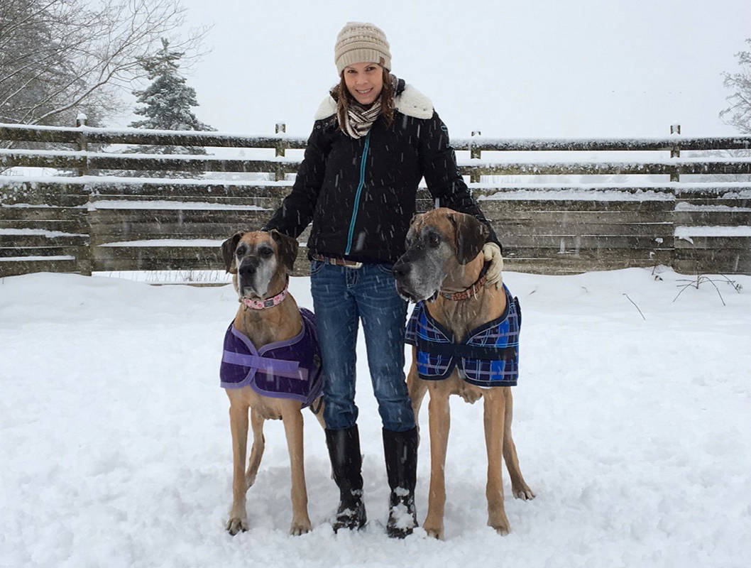 Unable to have children herself because of cancer, Langley resident Karen McLaren said her dogs are her fur babies and have been a source of therapy. In December 2017, McLaren was told her breast cancer had spread. She is now paying out of pocket for a drug that isn't covered but recommended to extend her life.                                Submitted photo