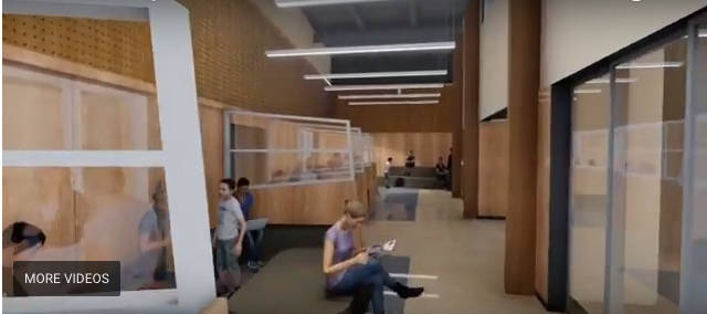 Take a virtual walk through the new Langley Secondary