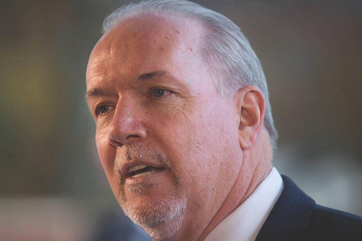 John Horgan won't retaliate in pipeline feud with Alberta