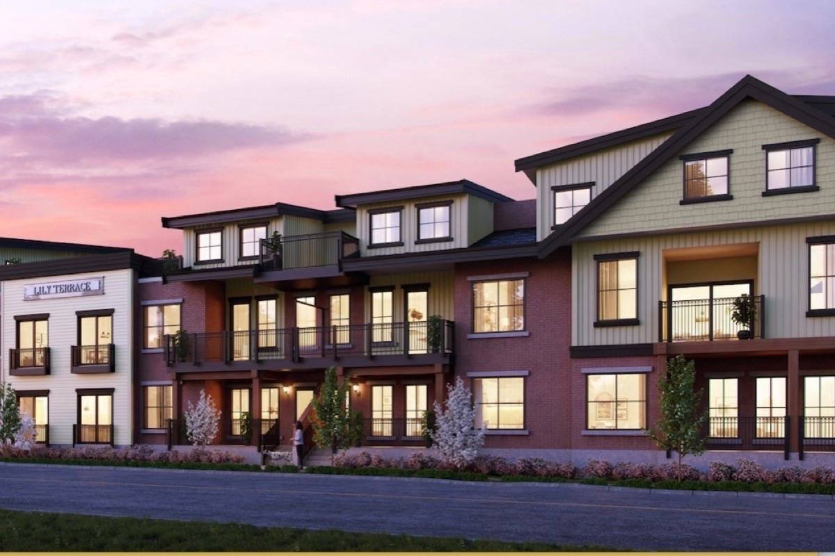 Sales for $1 million condos in Fort Langley begin mid-March