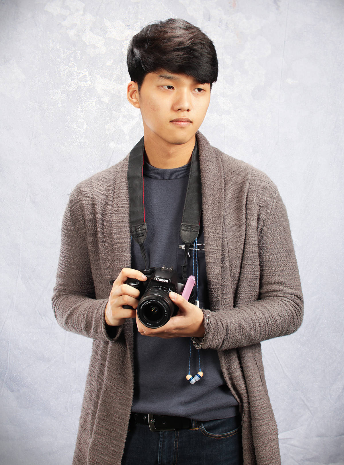 Kevin Kim, a grade 12 Walnut Grove Secondary student, is at the winter Olympics in Pyeongchange working for Proctor & Gamble to interview and film Korean athletes. Submitted photo