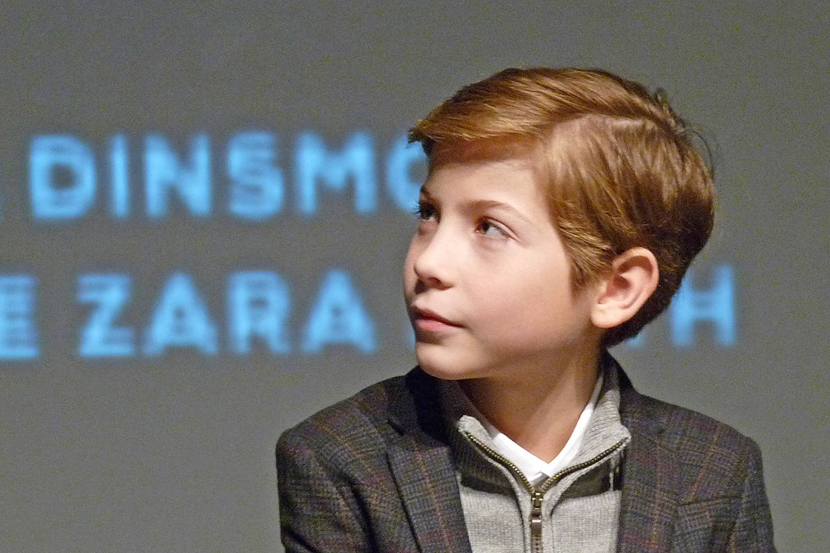 Jacob Tremblay took questions from the audience at LIFF.                                 Dan Ferguson Langley Times
