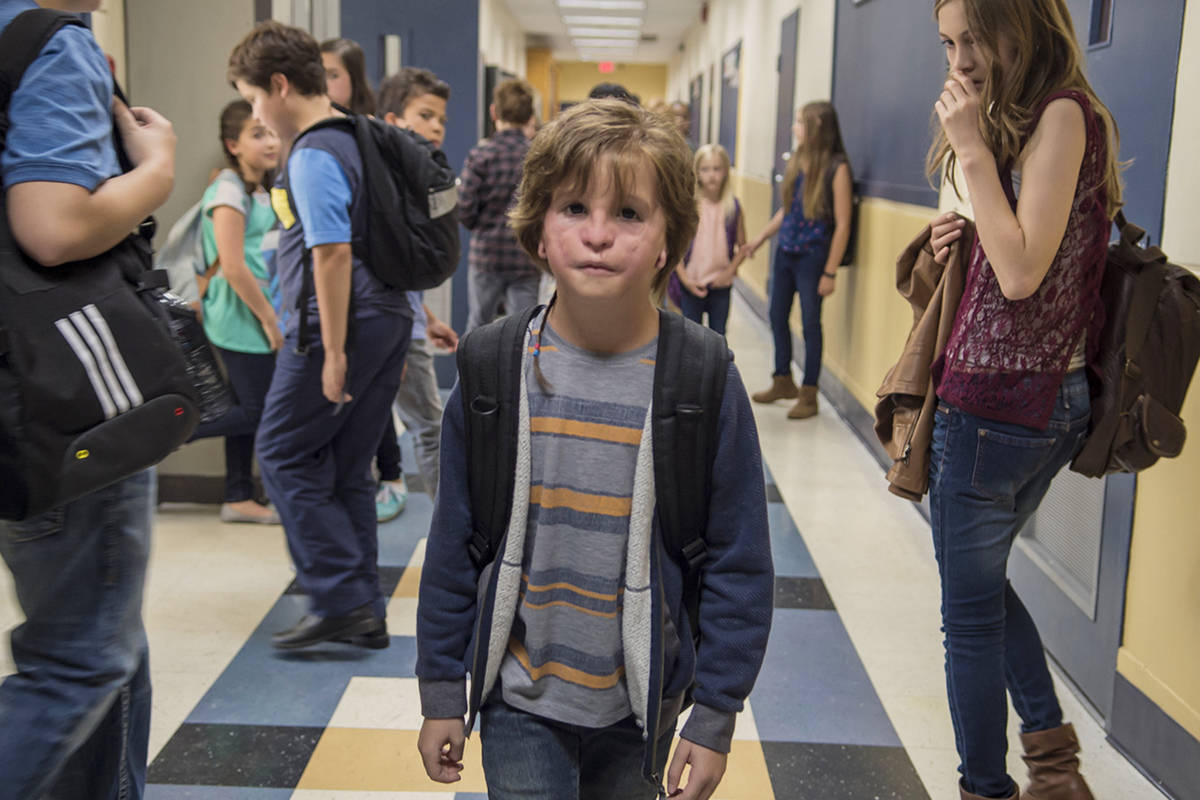 Jacob Tremblay in Wonder. Courtesy Lions Gate Entertainment