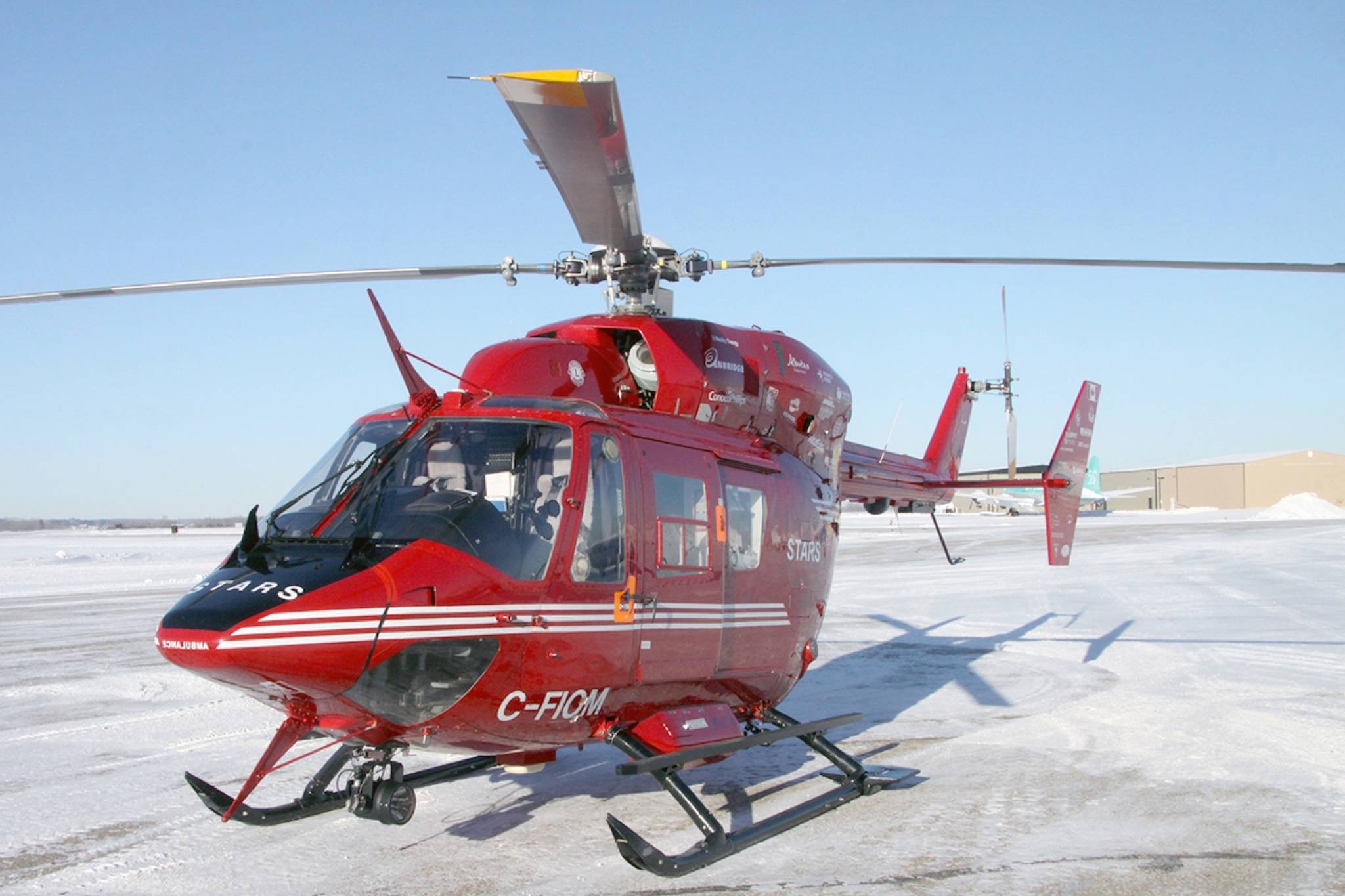 STARS operates 11 helicopters in Alberta and flew more than 1,500 missions during the last fiscal year. (Todd Colin Vaughan/Black Press)