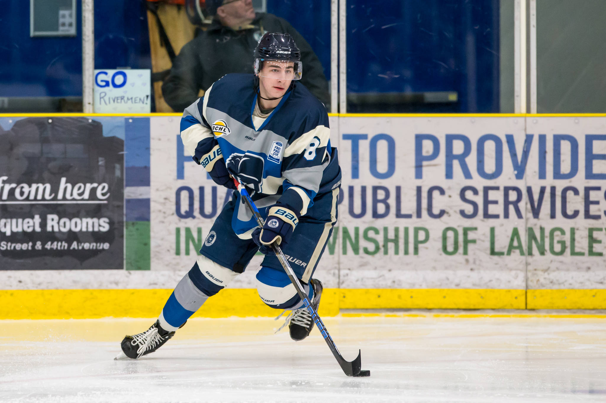 Rivermen's Bernard a nominee for top d-man