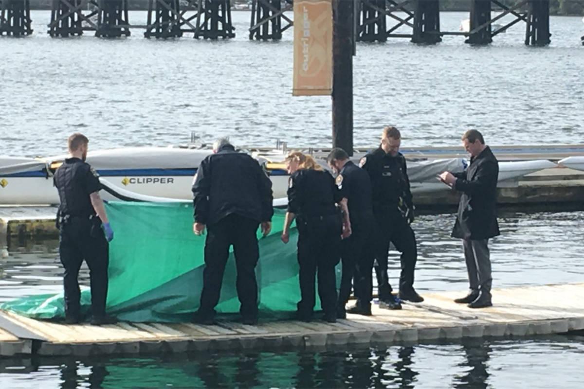 Body found near Victoria harbour