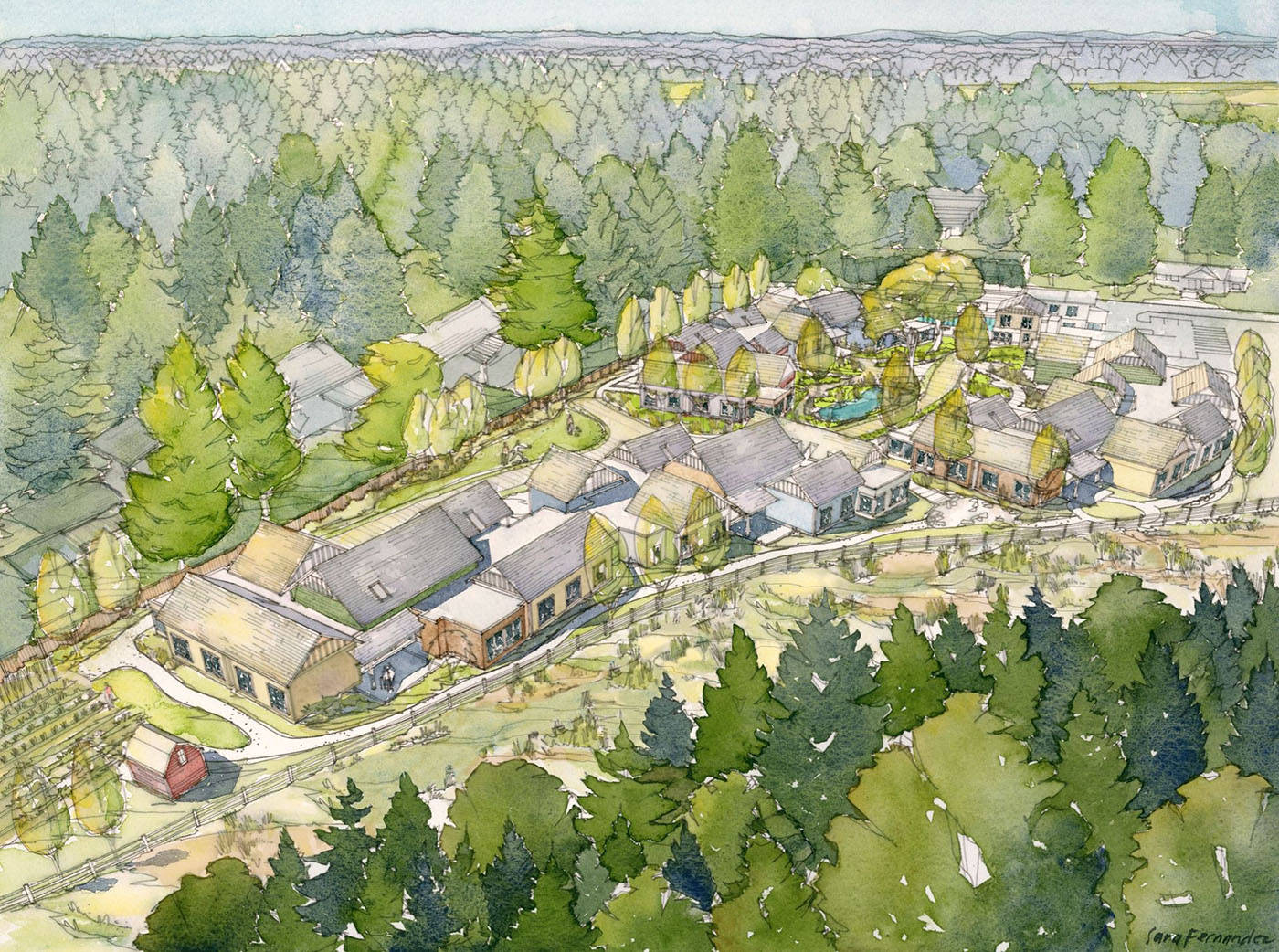 VIDEO: The Village community for dementia patients about to take shape