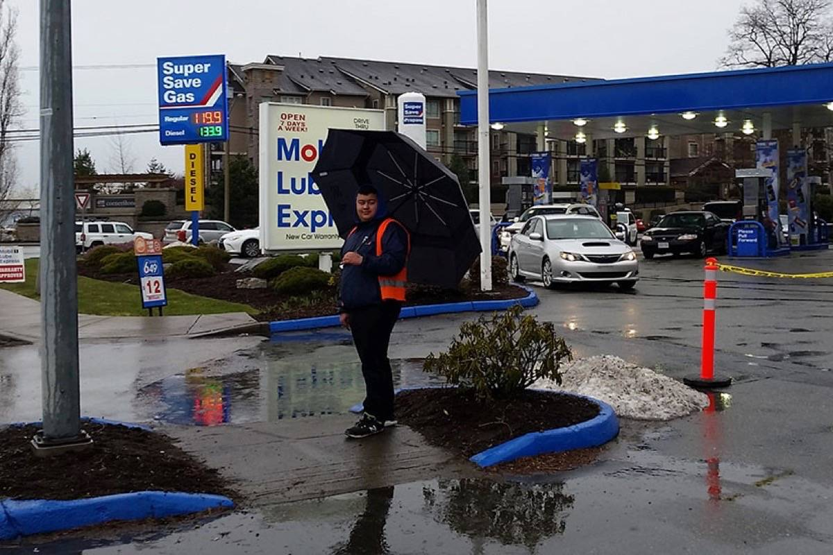 Langley benefits from gas war