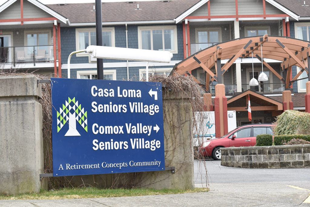 Two of the senior living facilities under the Retirement Concepts umbrella, in Courtenay. Photo by Scott Strasser.