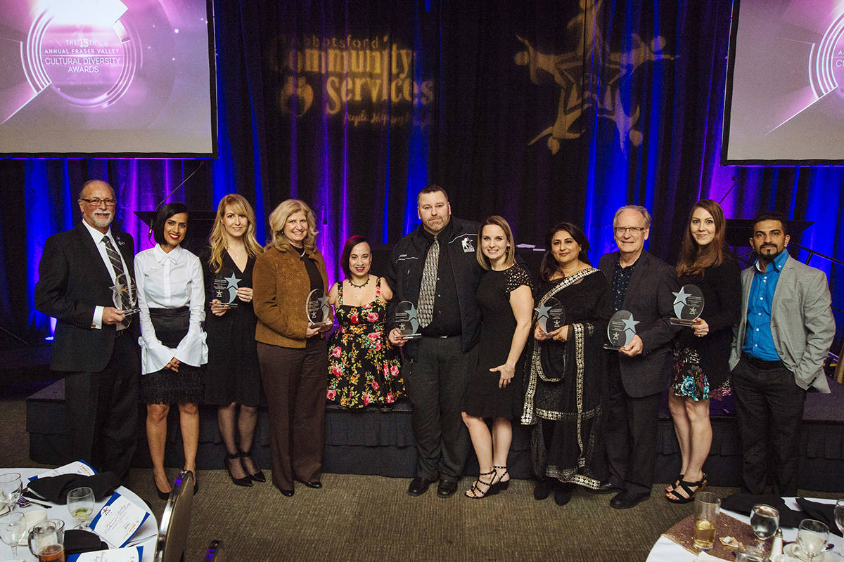 15th annual Fraser Valley Cultural Diversity Awards recognize inclusivity leaders