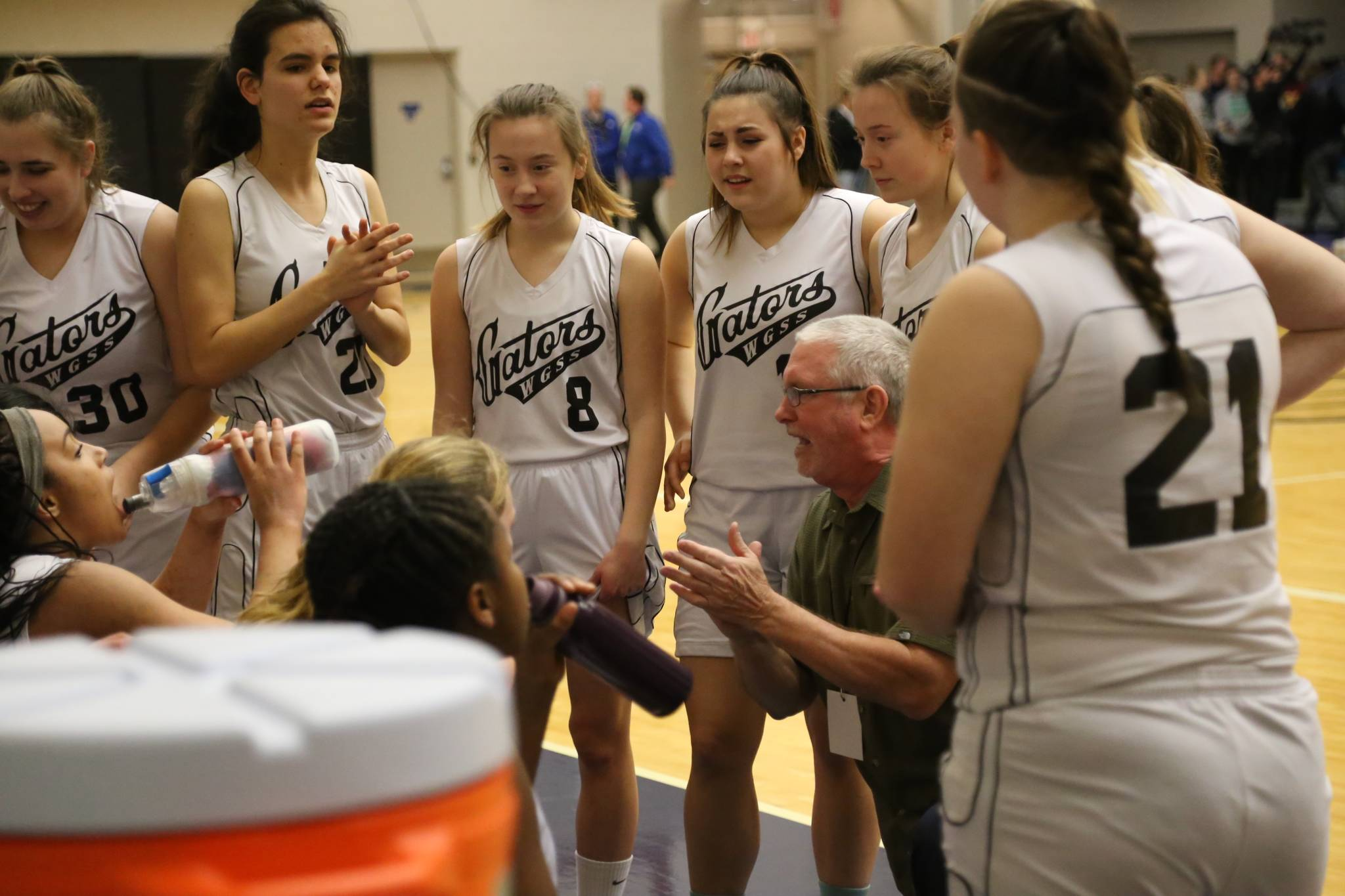 Coach Grant Inkster gives instruction. Greg Laychak Black Press