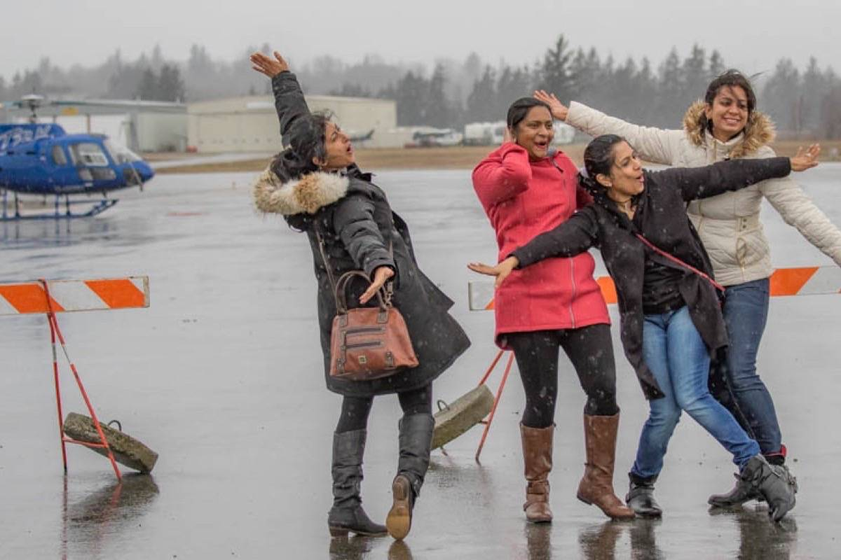The Sky's The Limit - Girls Fly Too! event is on this weekend March 10, 11 at Abbotsford Airport to encourage more females to get into aviation and military, navy, says organizer Kirsten Brazier. Submitted photo