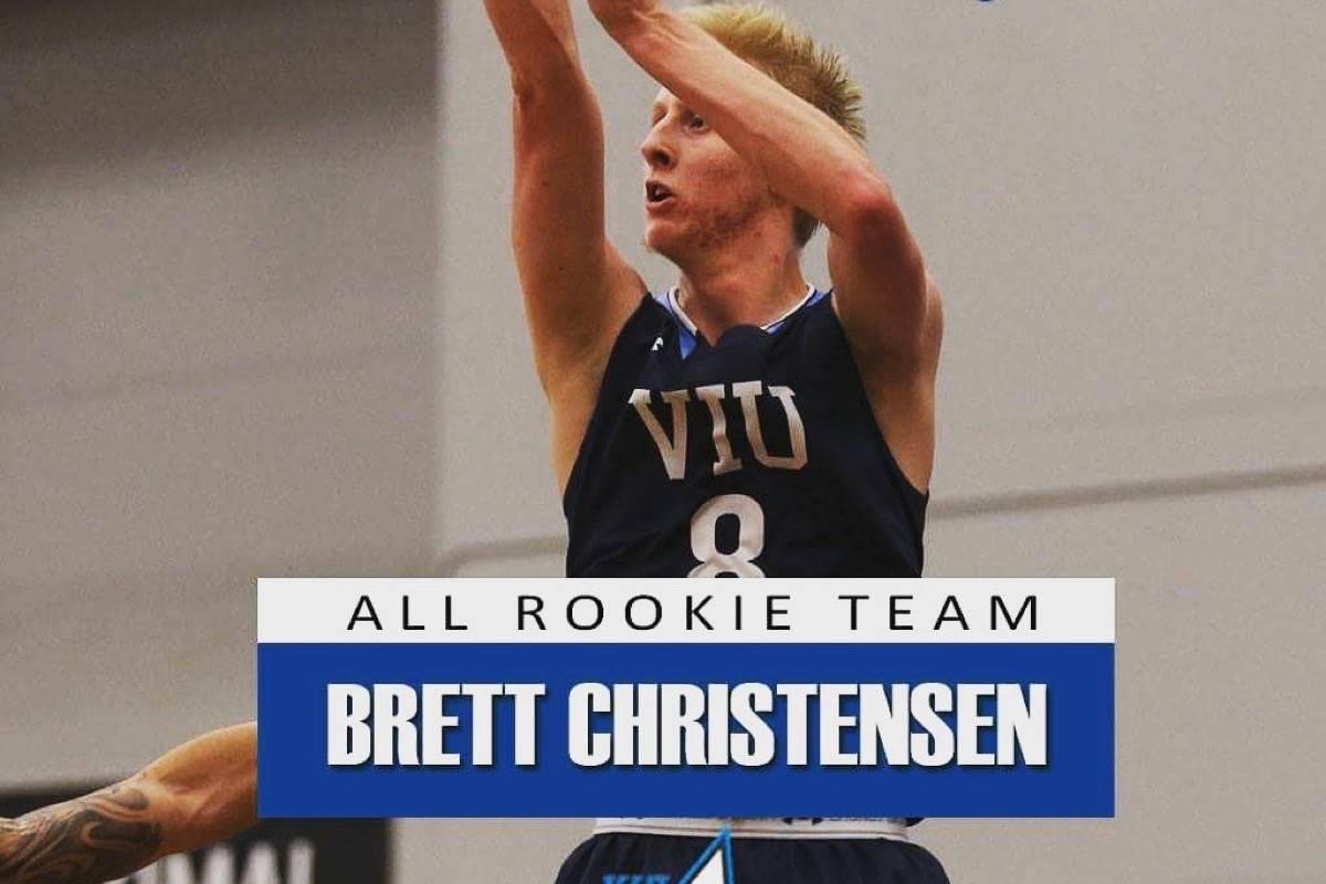Langley's Christensen makes all-rookie team