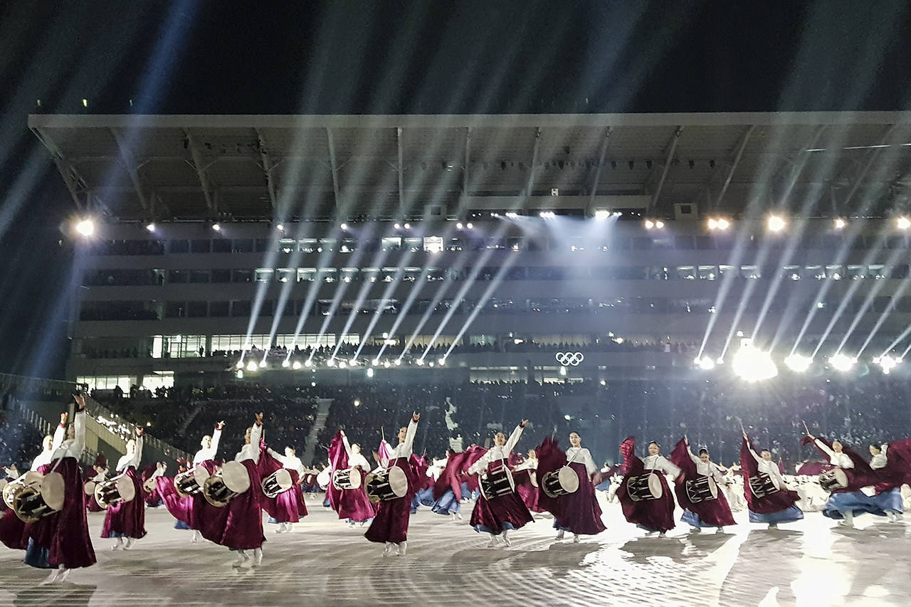 The Opening Ceremonies of the PyeongChang 2018 Winter Olympic Games. (Arnold Lim/Black Press)