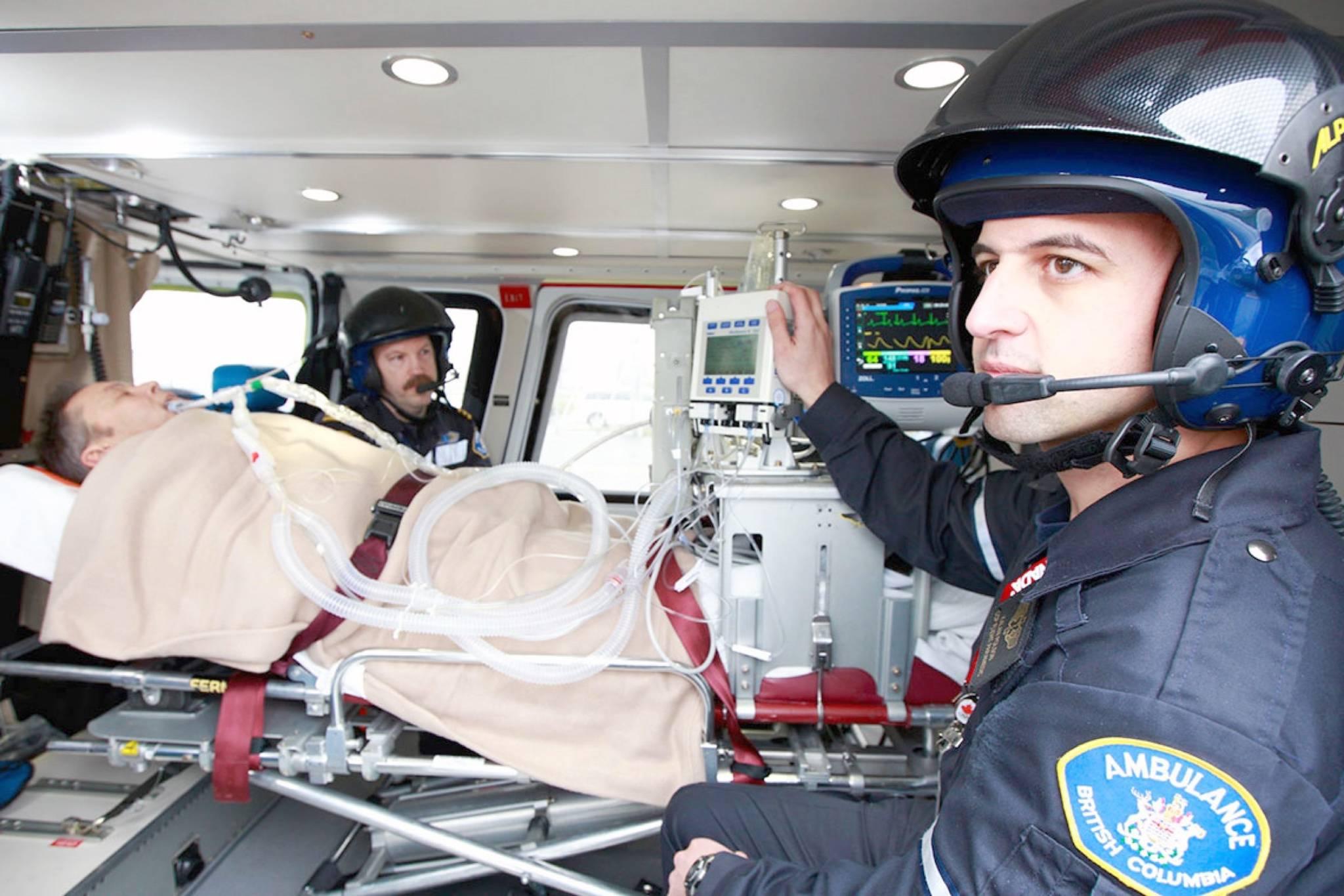 Advanced Care Paramedics. (BCEHS photo)