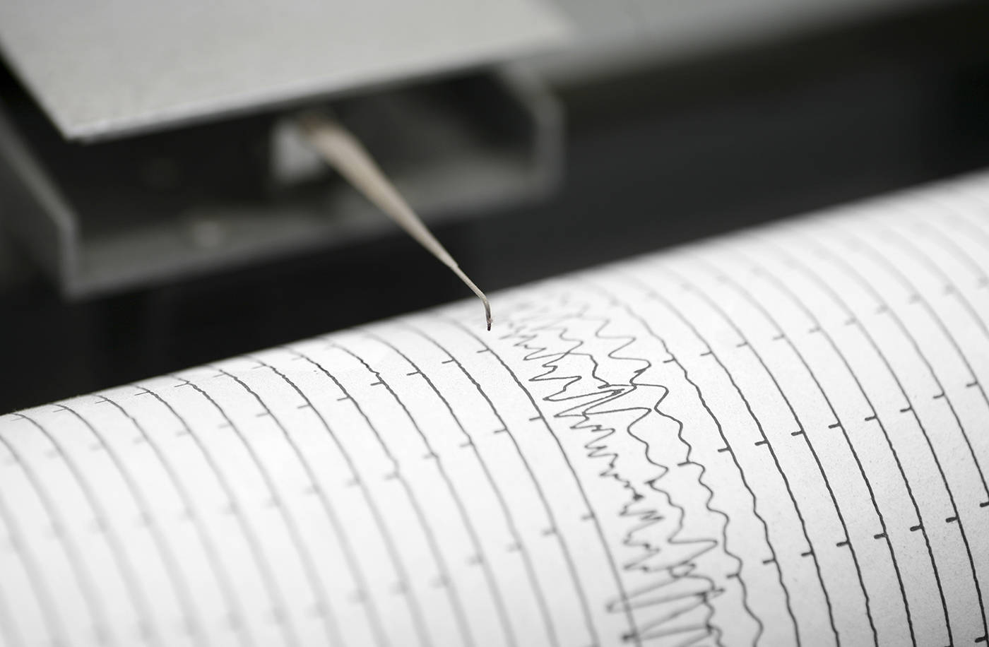 The most recent earthquake was a 2.4 magnitude quak which struck about seven kilometres northwest of Langford on March 5. (istock photo)