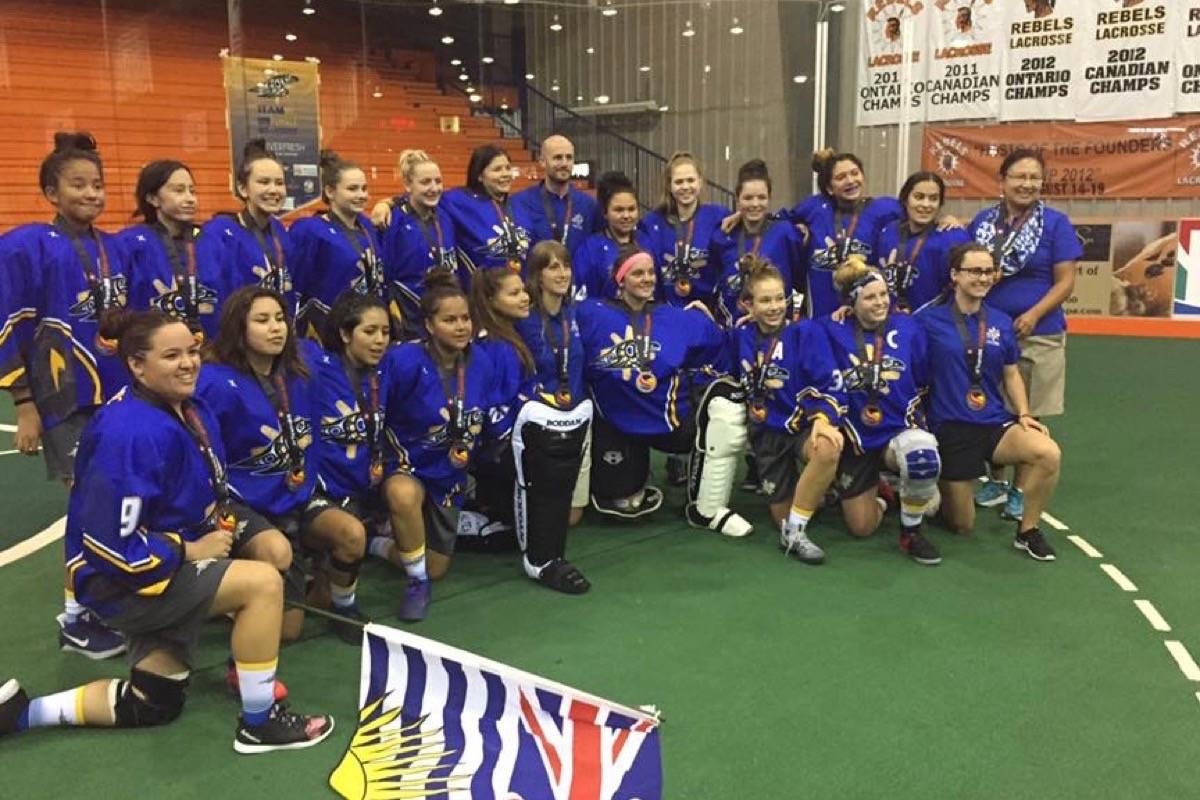 Free female lacrosse camp in Langley