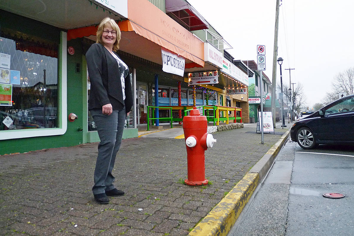 A proposal that would increase available parking by safely reducing the no-parking zone around fire hydrants could add much-needed spaces in the downtown core, Downtown Langley Business Association executive director Teri James said. Dan Ferguson Langley Times
