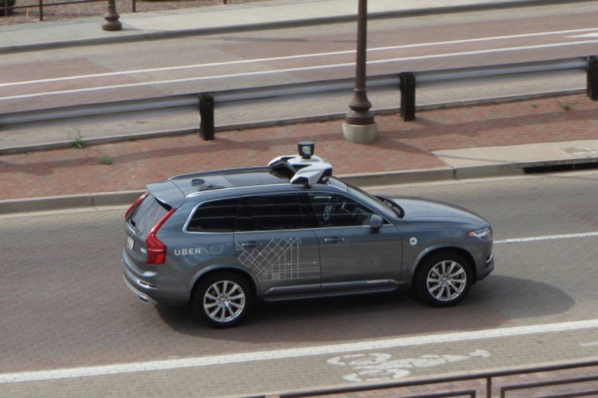 Police say a woman walking outside a crosswalk on Sunday night in the Phoenix area when she was hit by the self-driving car. (@zombieite/Flickr)