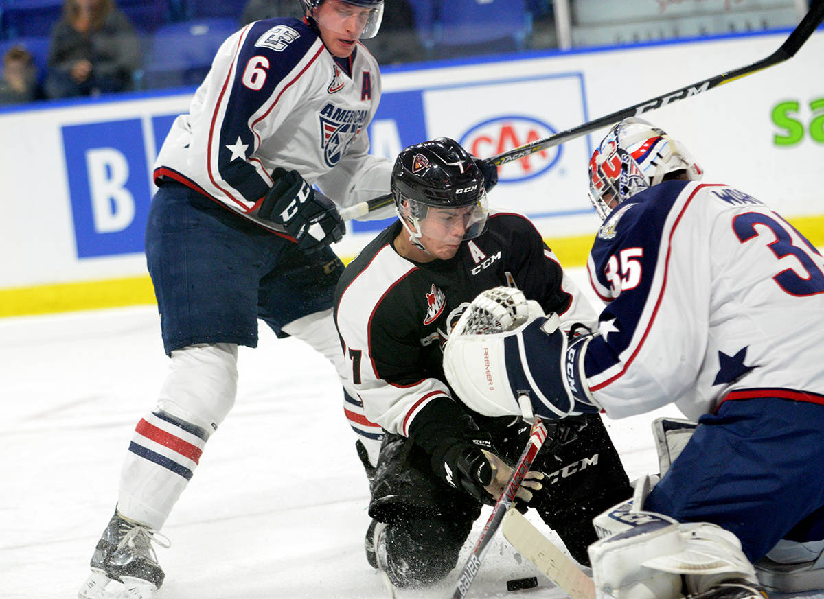 After scoring 61 goals to finish second in the WHL, Ty Ronning was named a Western Conference second team all-star. Gary Ahuja Langley Times file photo