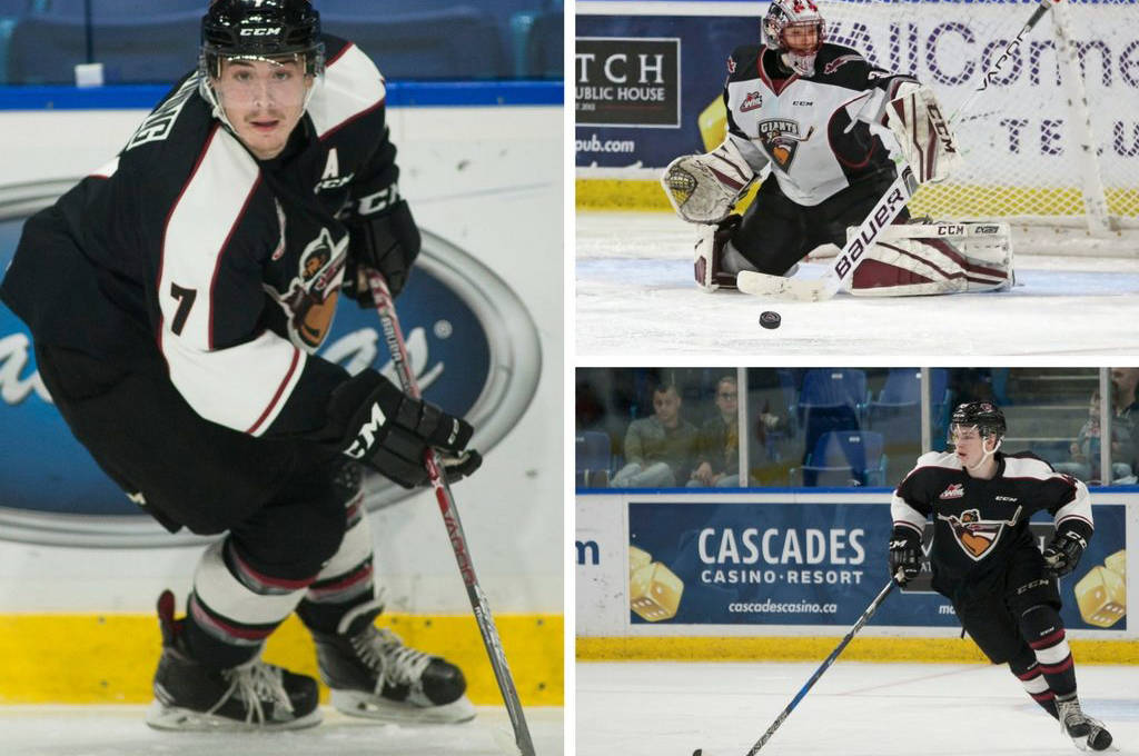 Giants trio earn accolades