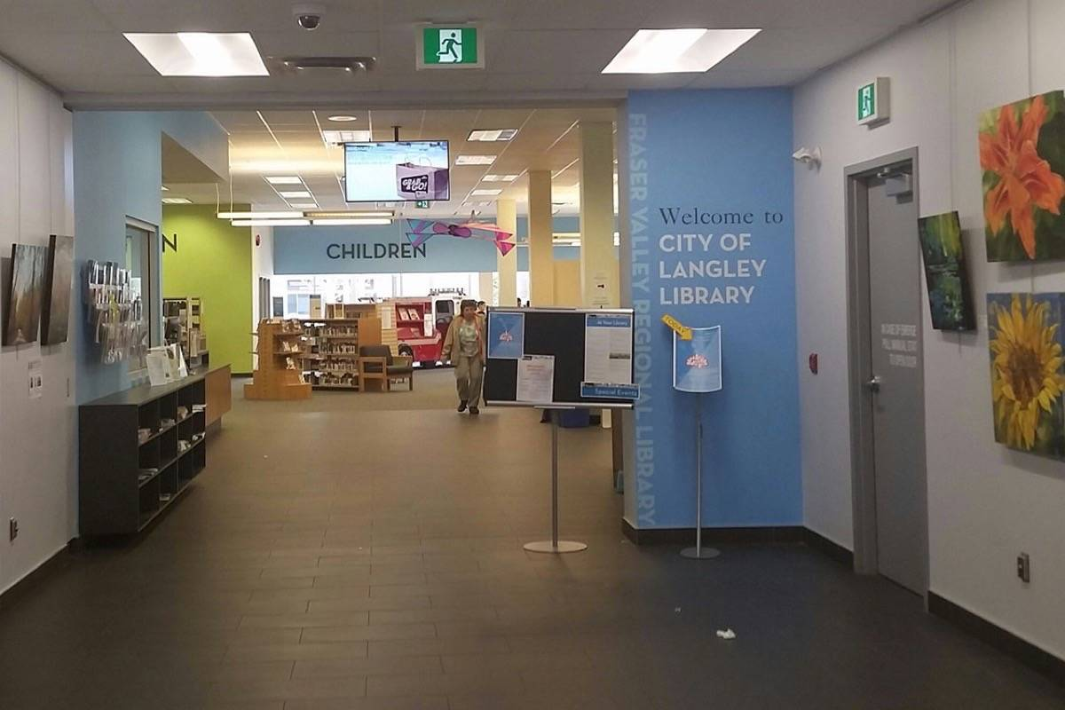 For safety of staff, Langley City library does not carry naloxone