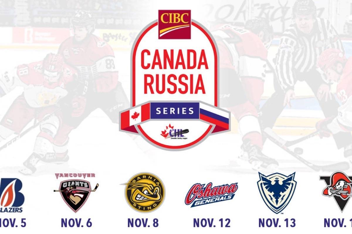 Langley set to host Canada Russia Series