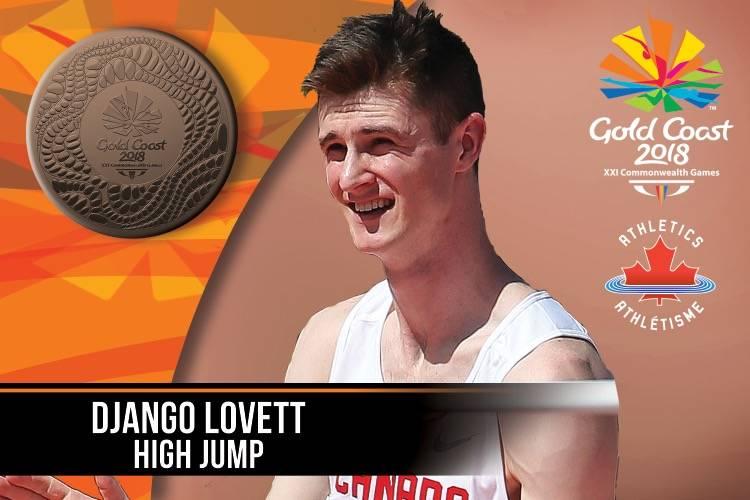Langley's Lovett leaps to bronze medal