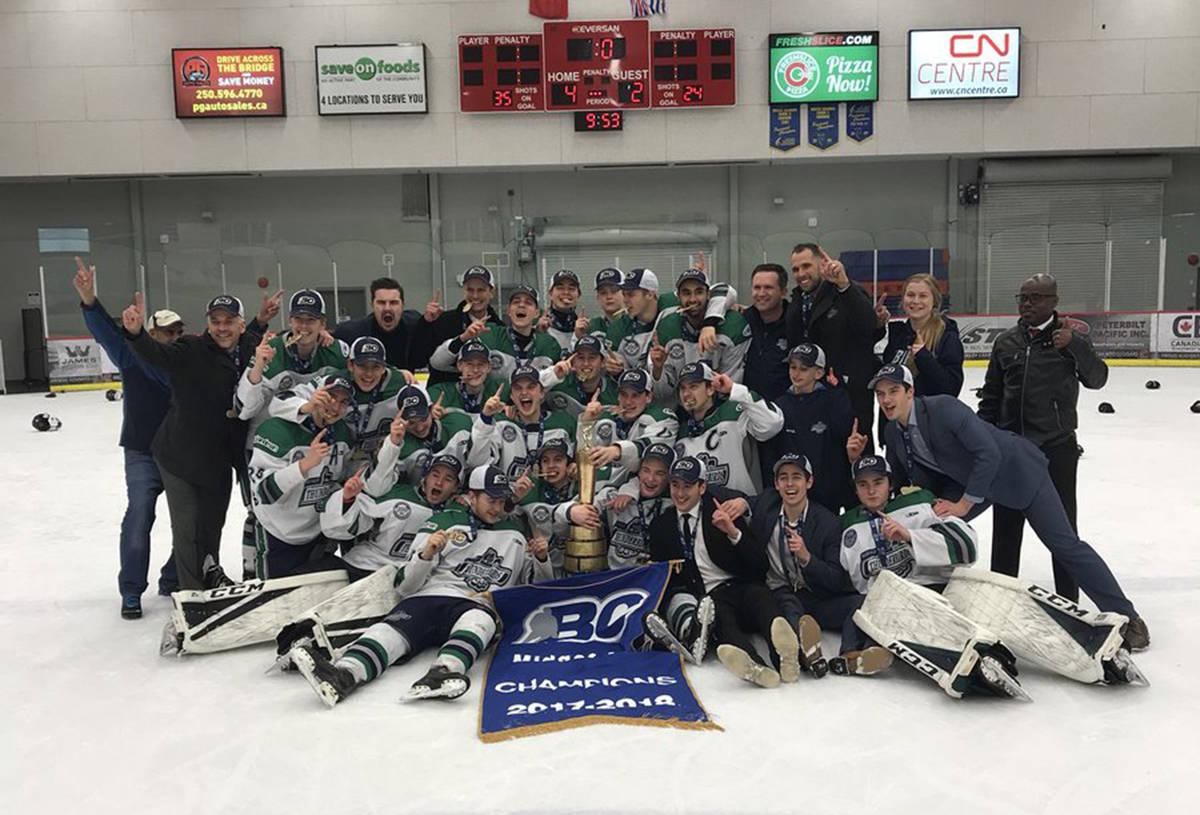 T-Birds soar to provincial title