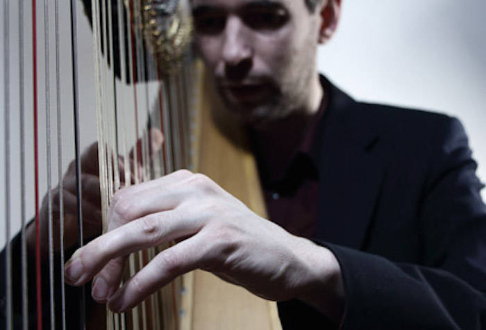 Harpist Josh Layne celebrates 1 million YouTube views with a concert. (Submitted photo)