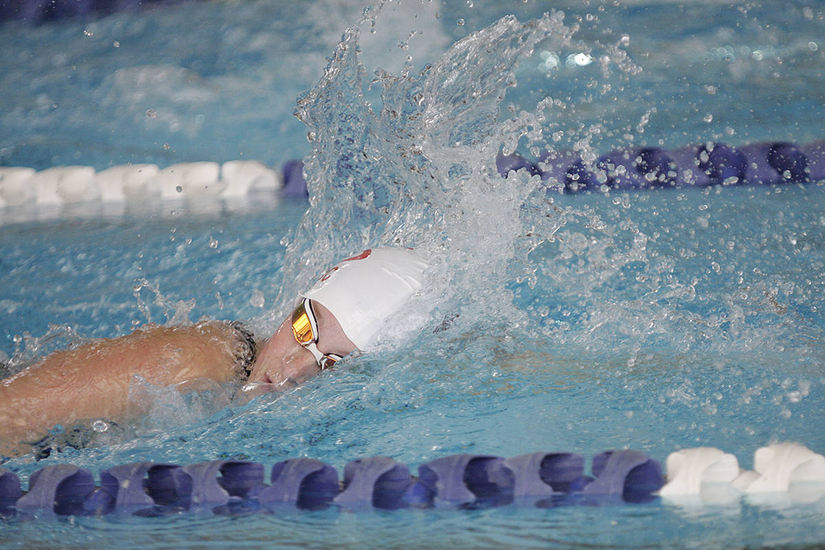 Langley swimmers combine for 41 medals, top spot