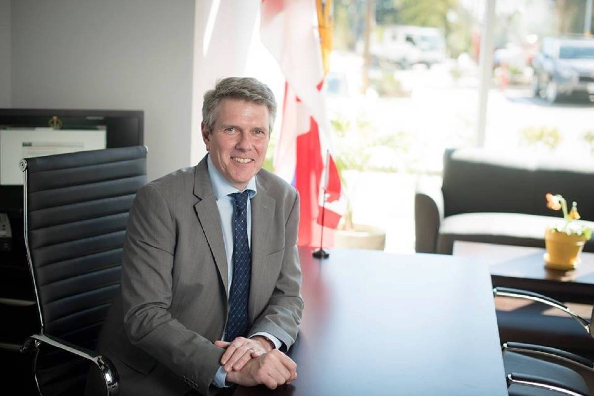 Langley City MP John Aldag announced last week that applications were open for the 2018 Enabling Accessibility Fund. (John Aldag photo)                                Langley City MP John Aldag announced last week that applications were open for the 2018 Enabling Accessibility Fund. (John Aldag photo)