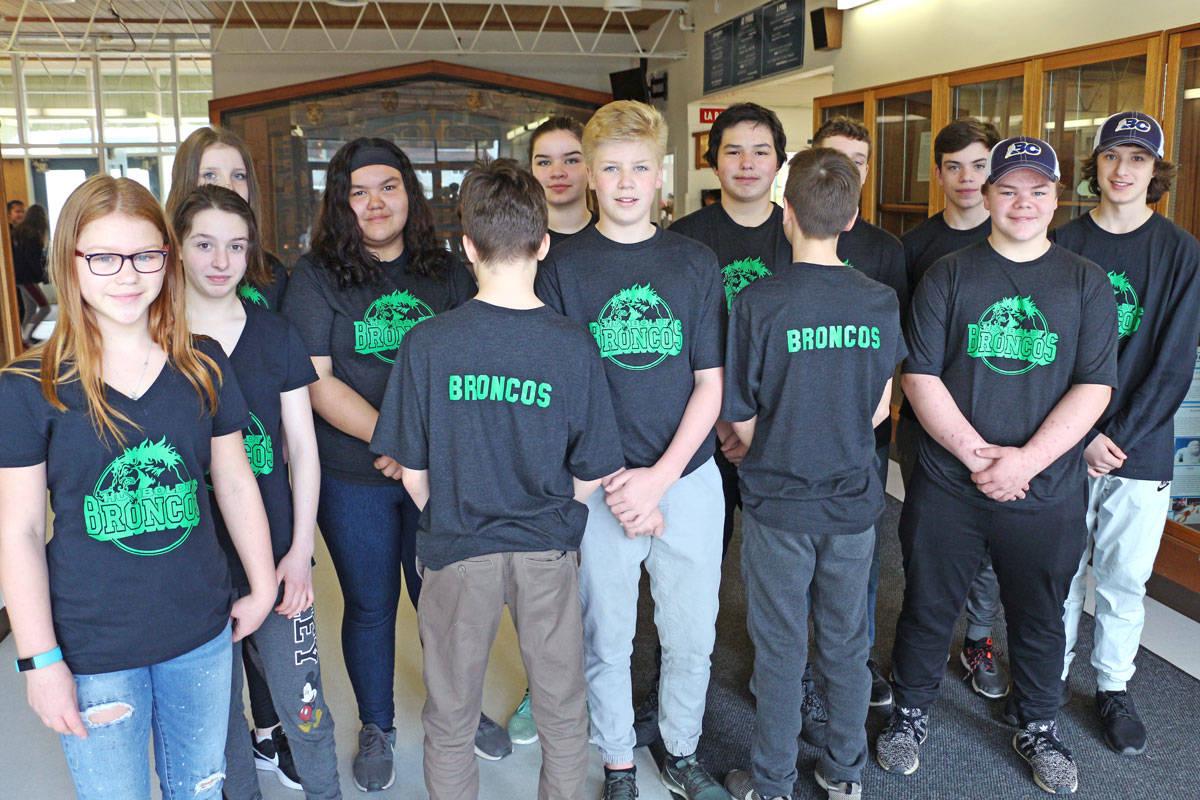 Humboldt Broncos T-shirts raise $1,400 for team's families