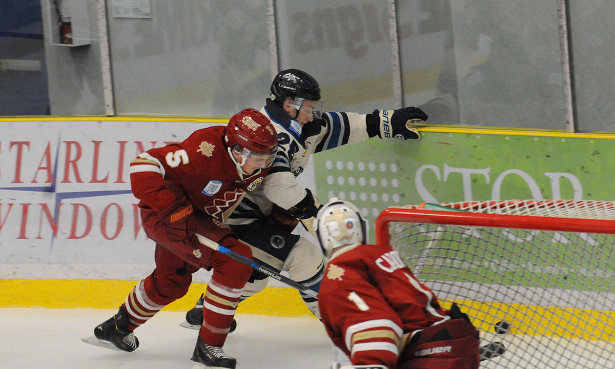 Langley Rivermen captain Brendan Budy finds himself ranked for this June's NHL entry draft. Gary Ahuja Langley Times