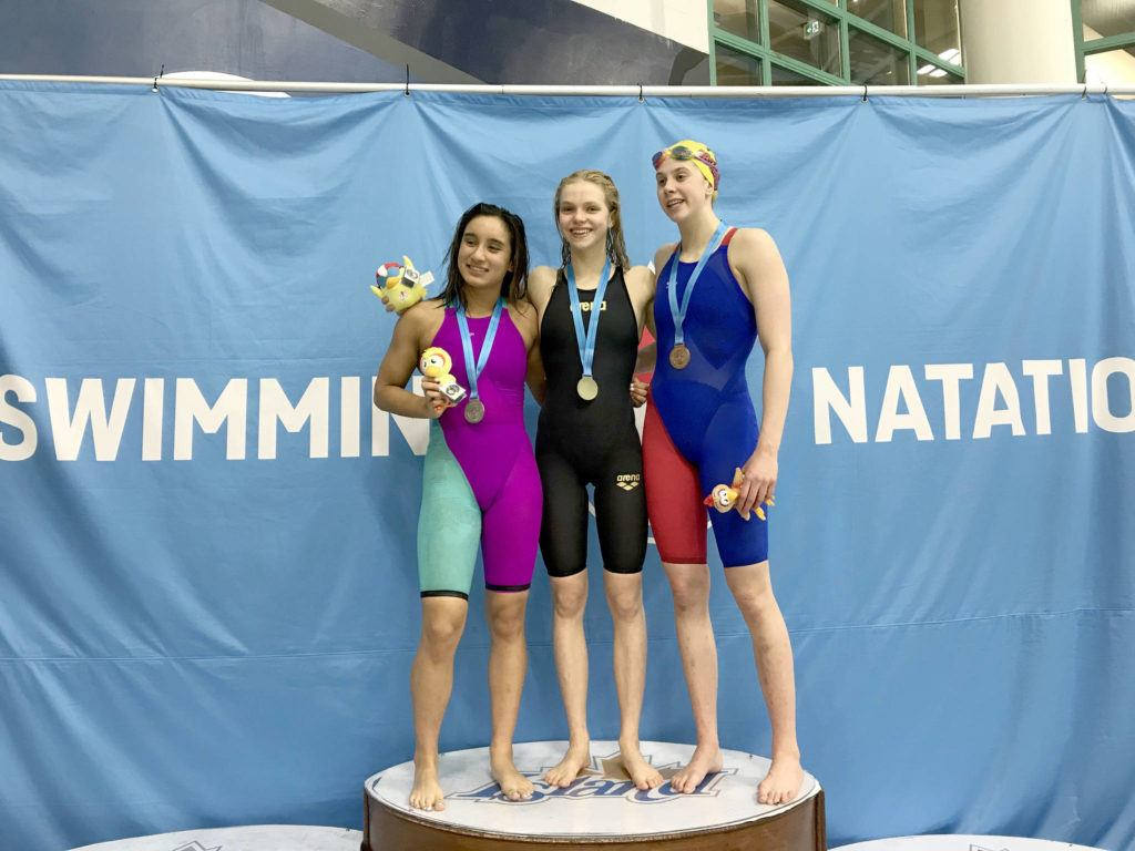 Golden girl Bailey Herbert leads Olympians at Western Canadian championship meet