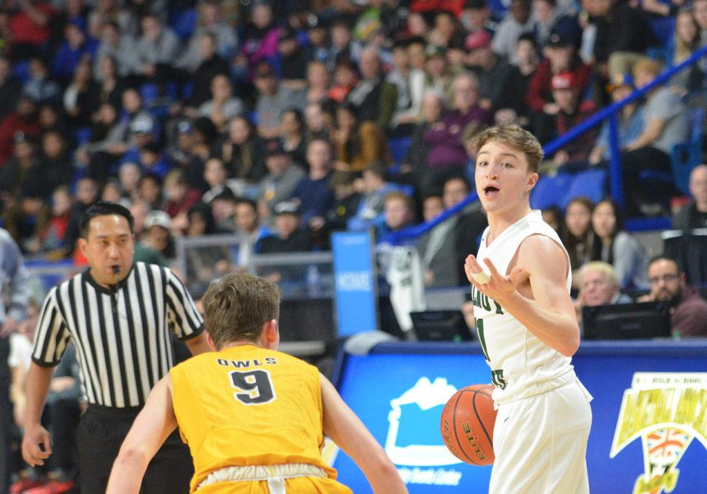 Walnut Grove Gators' James Woods won MVP honours in 2017 as a Grade 11 player in leading his team to the BC 4A provincial title. Gary Ahuja Langley Times file photo
