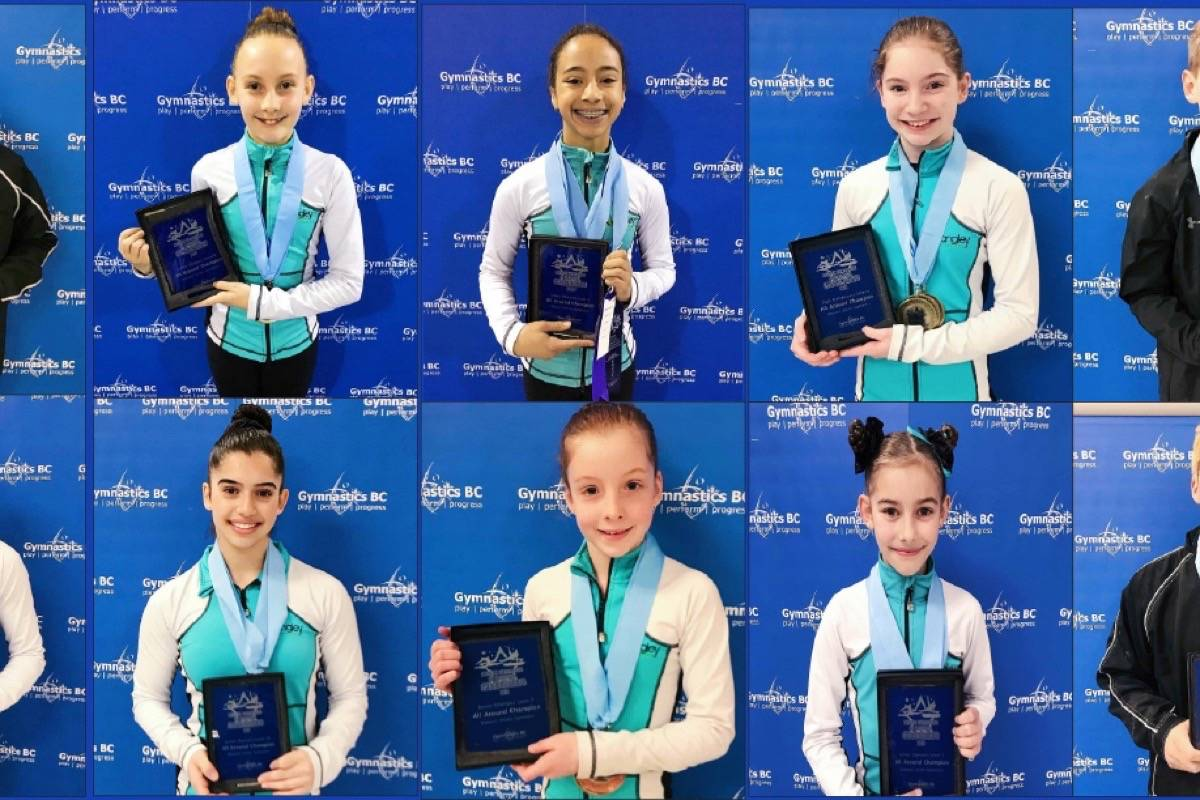 Ten titles for Langley Gymnastics Foundation athletes