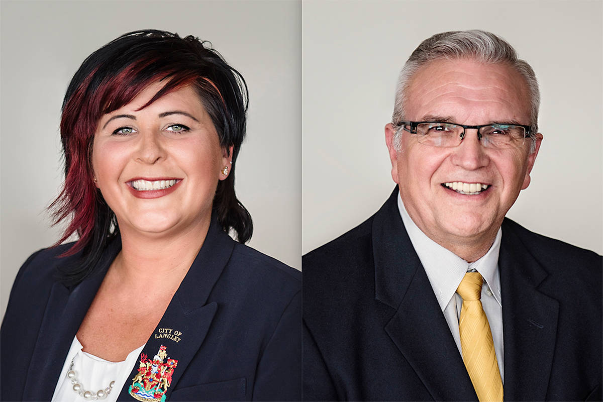 VIDEO: Two Langley City councillors to run for mayor