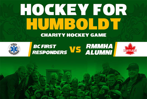 Hockey for Humboldt charity game Friday
