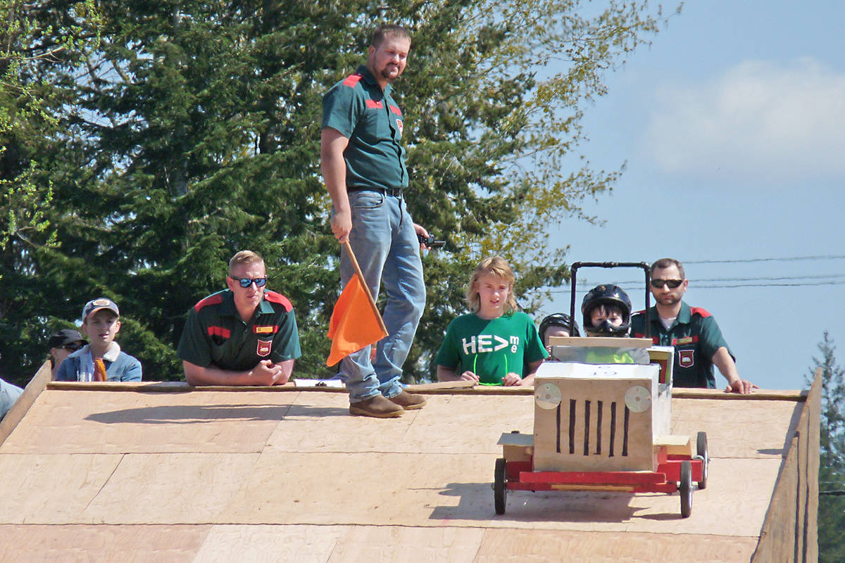 The 41st annual Soap Box Derby was held Sunday by the Langley Evangelical Free Church. Dan Ferguson Langley Times